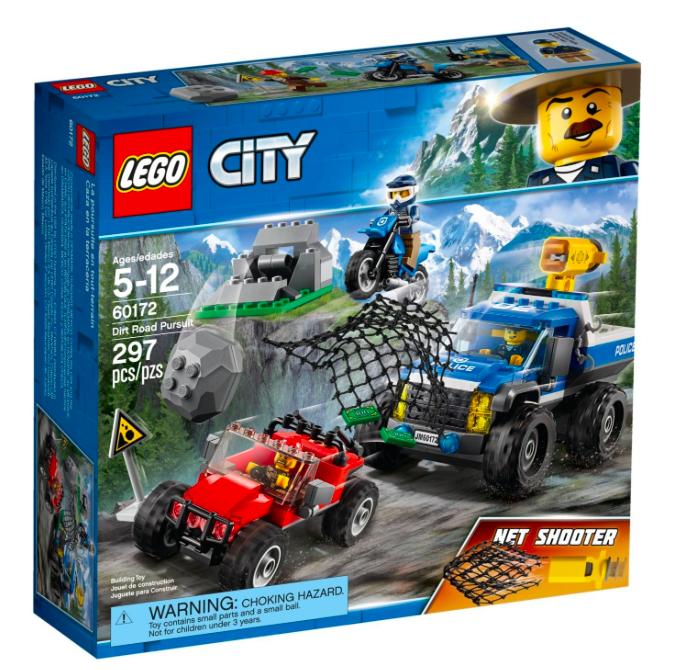 Geht wieder: Lego City 60172 - Verfolgungsjagd auf Schotterpisten