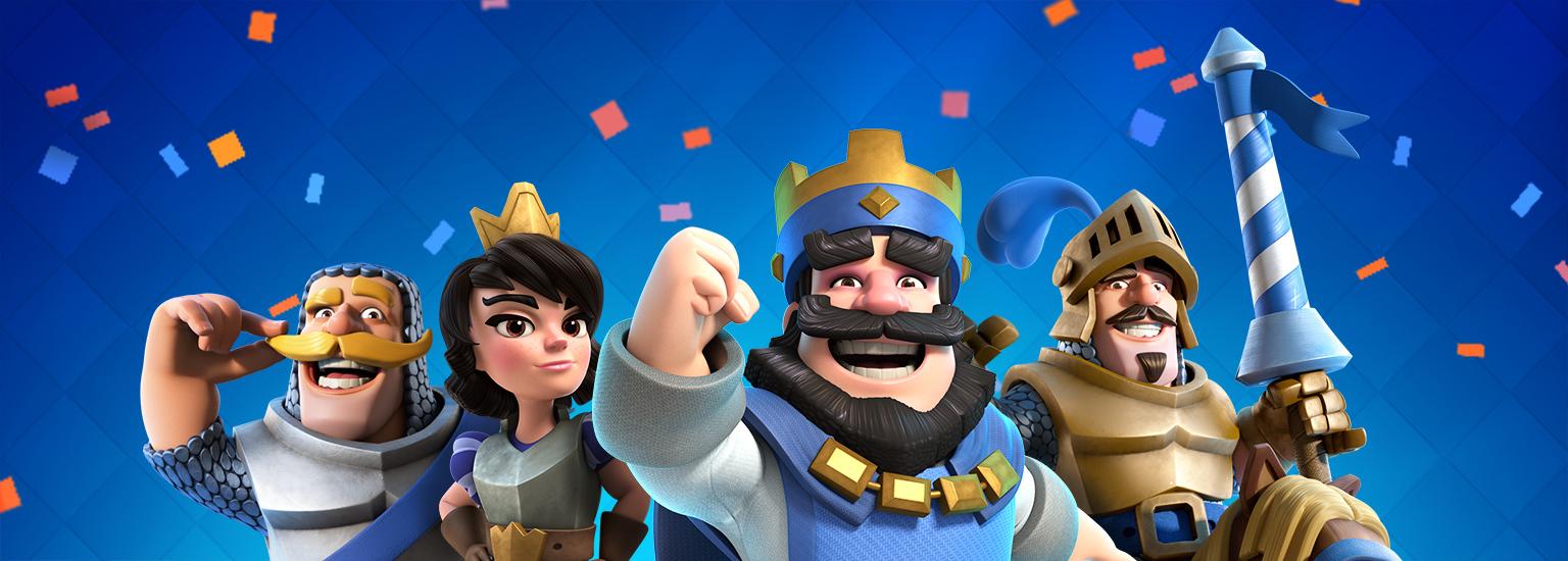 Clash Royale 2. Jahres Jubiläum (IOS/Android)