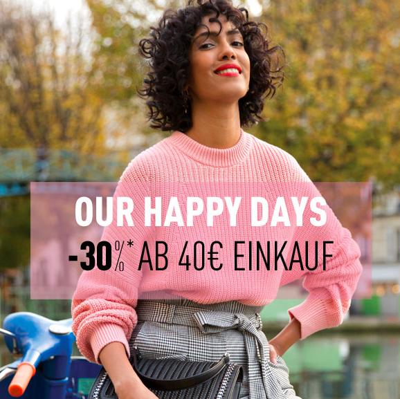 30% Rabatt ab 40€ Einkaufswert auf die Frühjahrs-/Sommerkollektion bei Pimkie (Sale exklusive) / online & offline