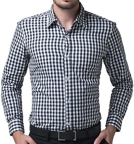 Einfache, karierte Hemden, 50% Werbeaktion