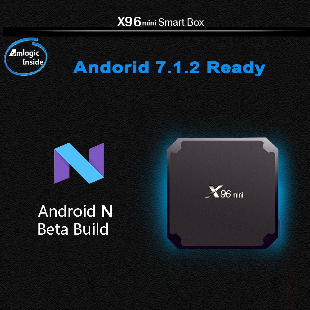 X96 MINI Android 7.1.2 Amlogic S905W 2GB/16GB TV BOX (Deutsches Lager)