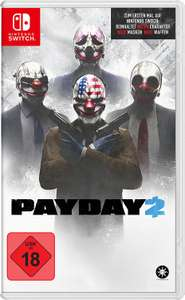Payday 2 (Switch) für 34,99€ versandkostenfrei (Saturn & Amazon)