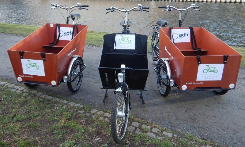 [Berlin] Kostenlose Lasten-Fahrräder zum Ausleihen für jedermann (Projekt des ADFC Berlin)