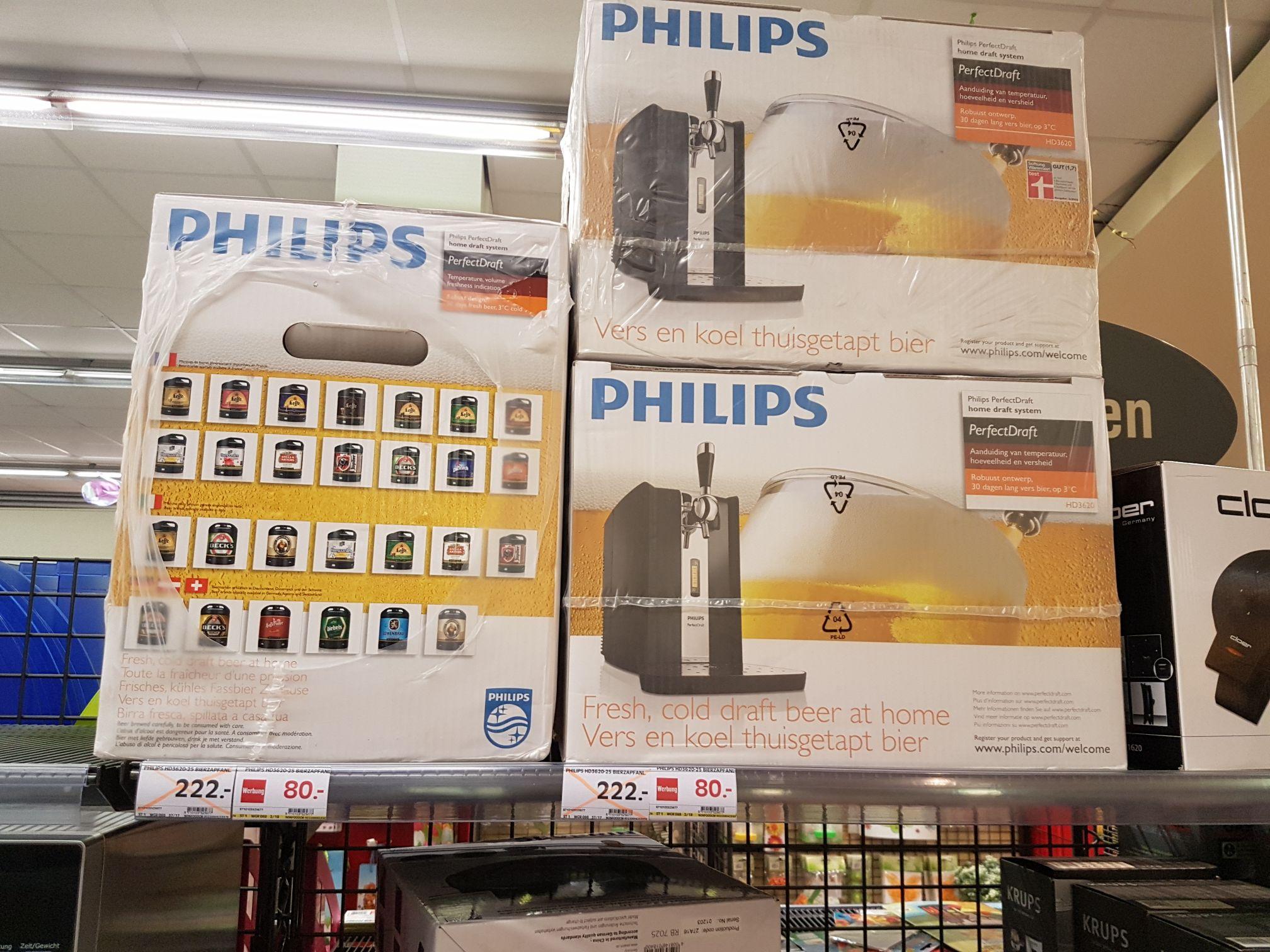 LOKAL München Marktkauf Feringapark Unterföhring Bierzapfanlage Philips HD3620-25