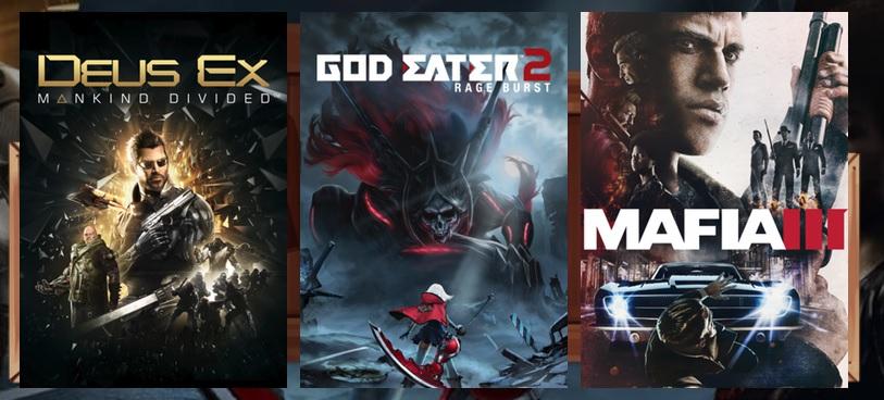 [Humble Monthly Bundle] Deus Ex + Mafia 3 + God Eater 2[Steam]