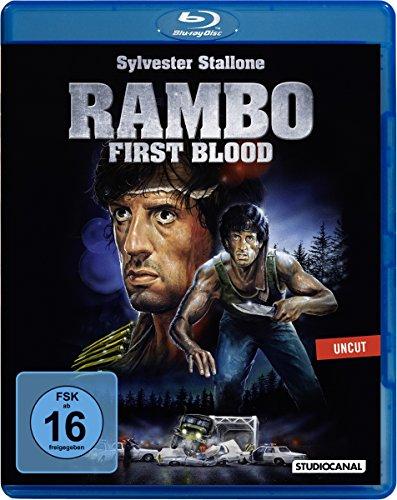 Rambo 1 - First Blood (Blu-ray) für 5,54€ (Amazon Prime & Dodax)