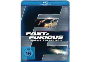 [Saturn] Fast & Furious - 7 Movie Collection - (Blu-ray) für 19,99€ Versandkostenfrei