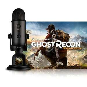Blue Blackout Yeti + Tom Clancy's Ghost Recon Wildlands oder Watch_Dogs 2 [PC] [Amazon]