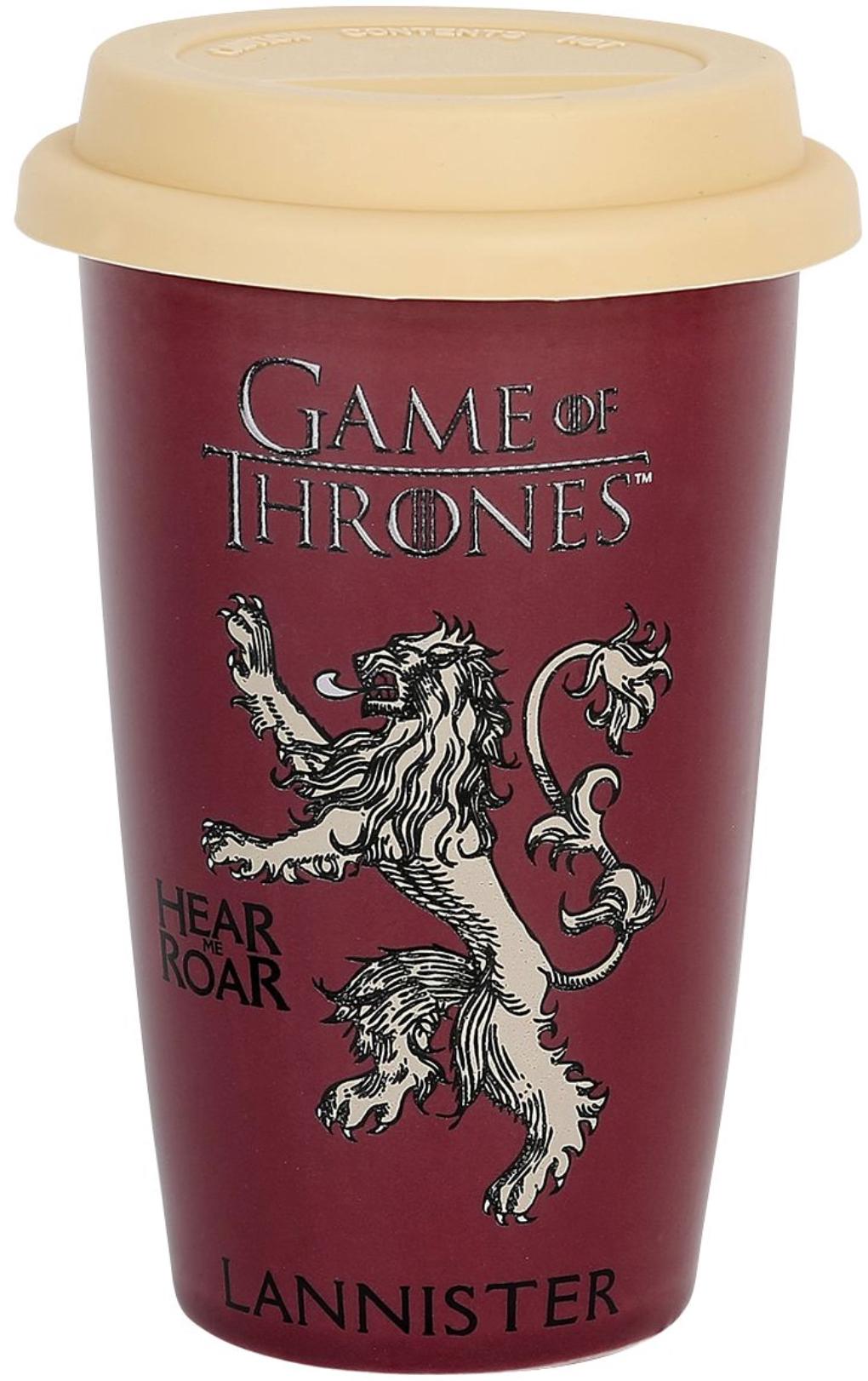[EMP] Game of Thrones House Lannister Kaffee Becher Trinkbecher Keramik