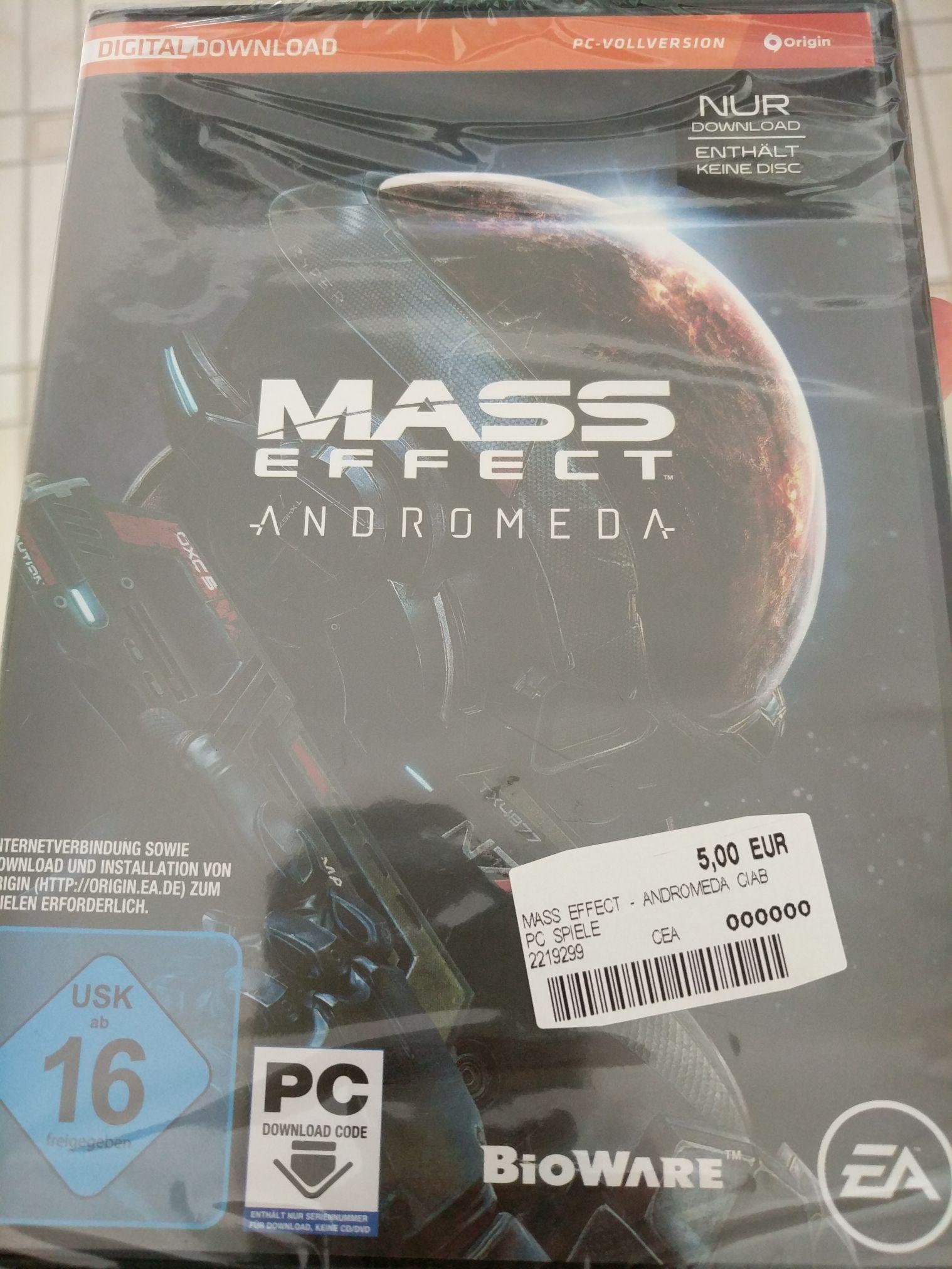 [Lokal HH] [Mediamarkt] [PC] Mass Effect Andromeda