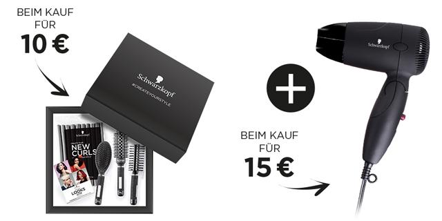 Schwarzkopf Produkte kaufen und CREATEYOURSTYLE Box gratis erhalten