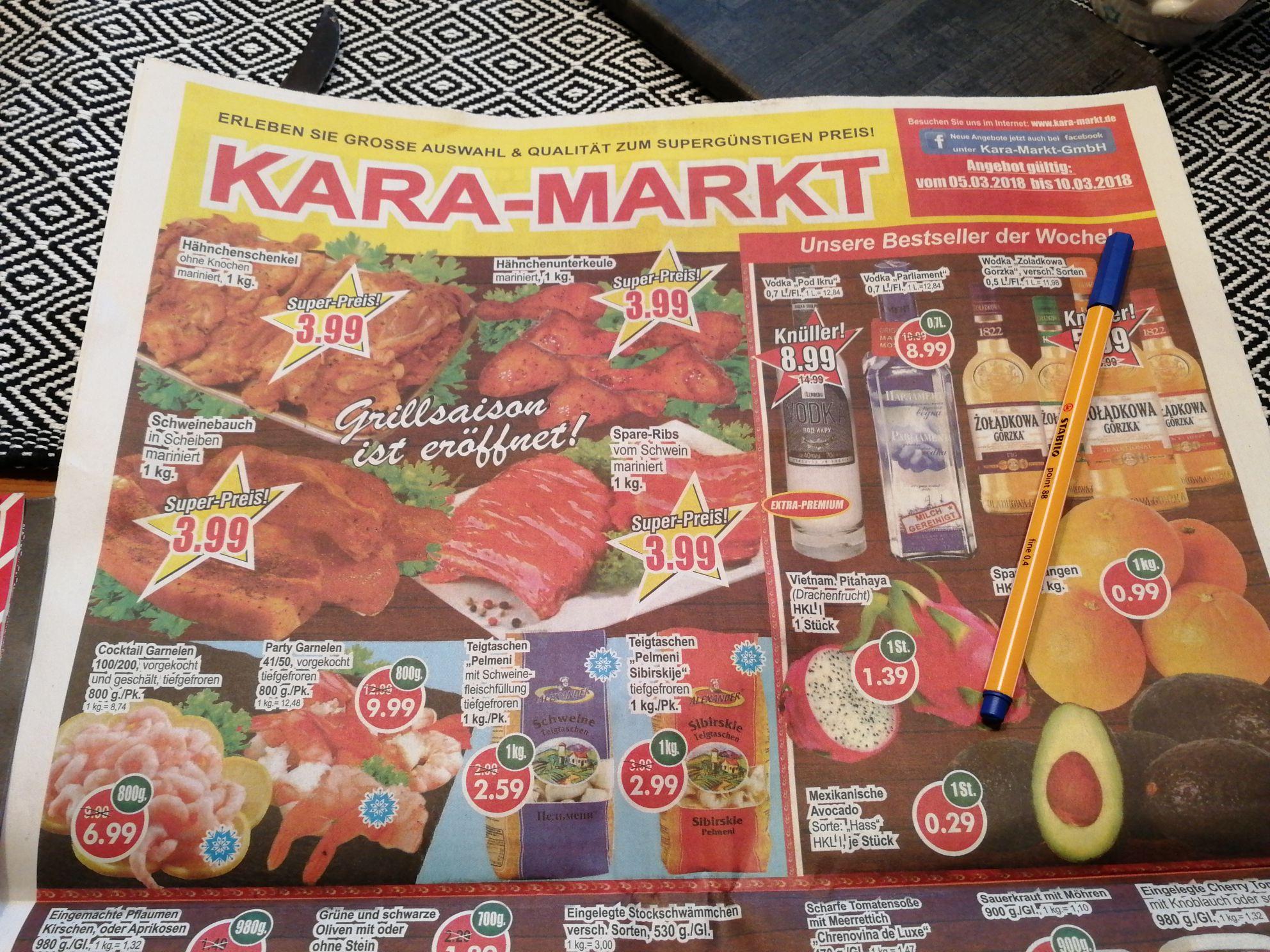 [Lokal Paderborn] Avocado Sorte Hass, HKL 1