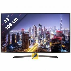 LG 43UJ634V 108 cm (43 Zoll) Fernseher (4K / Ultra HD, DVB-T2/ DVB-S2/ DVB-C, Smart TV)