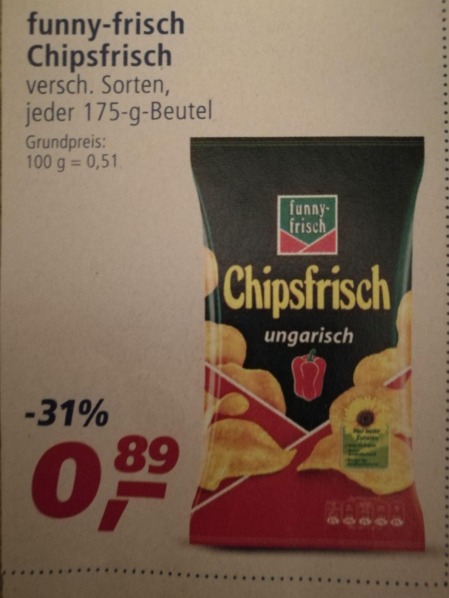 Real funny-frisch Chipsfrisch lokal in Düsseldorf und Neuss