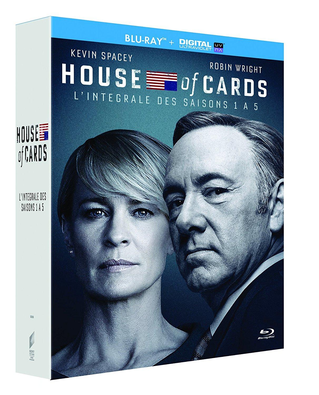 House of Cards - Staffeln 1 - 5 (Blu-ray + UV Copy) für 29,23€ (Amazon.fr)