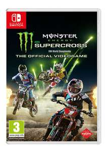 Monster Energy Supercross: The Official Videogame (Switch) für 25,19€ (SimplyGames)