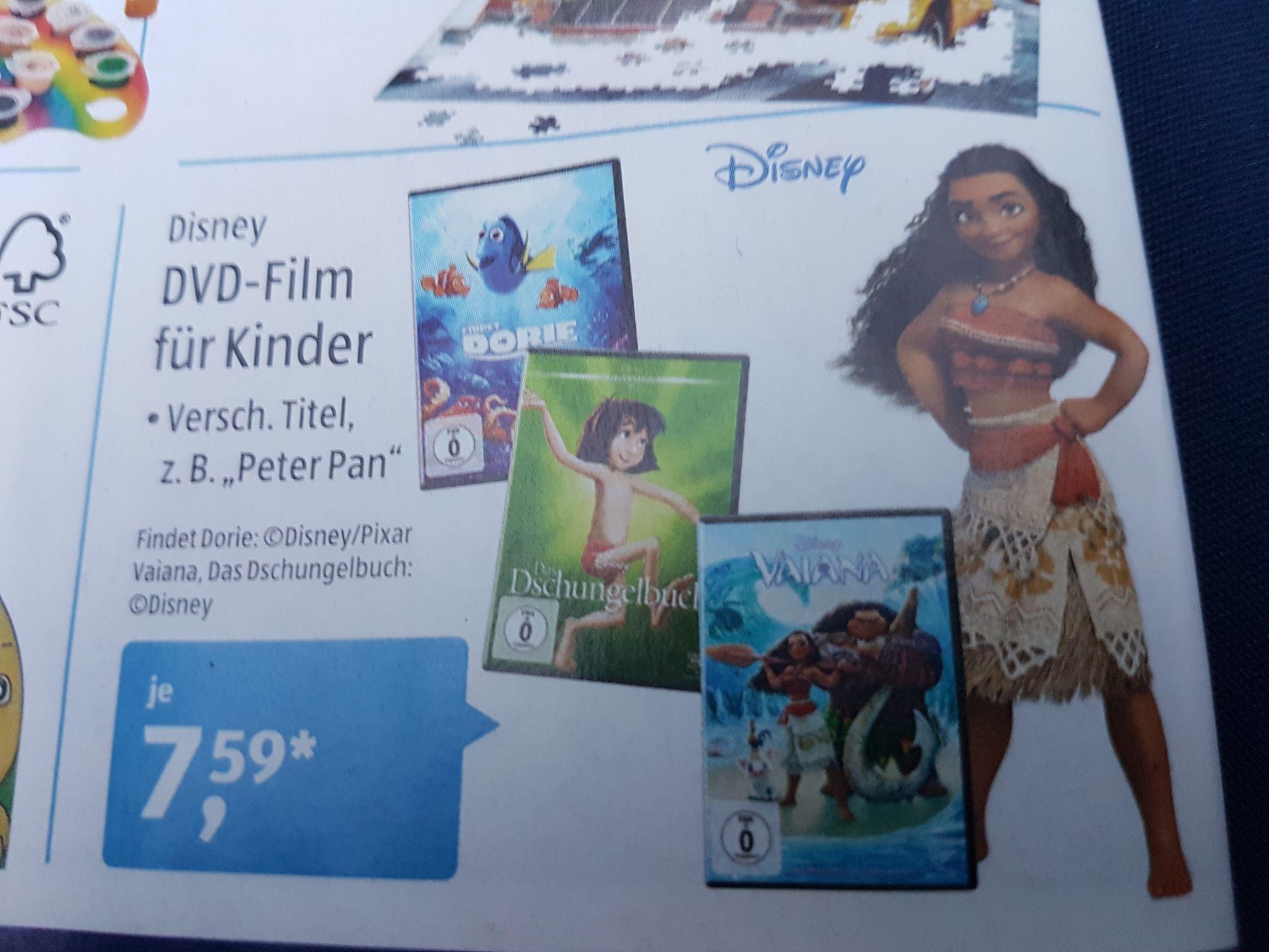 Disney Filme auf DVD | Aldi Süd ab 5.3.18