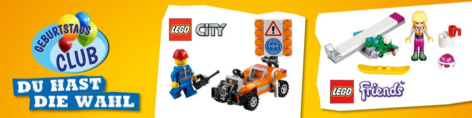 Kostenloses Geburtstagsgeschenk von Lego bei Anmeldung bei Vedes! Kinder von 3 bis 11 Jahre.