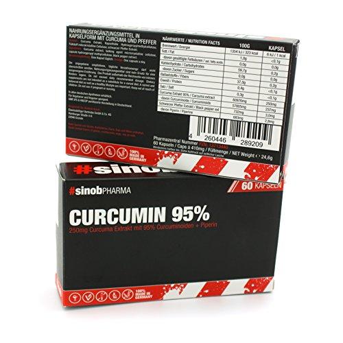 Blackline 2.0 Curcumin 95% (60 Kapseln je 250mg) + 9.90 € Gutschein