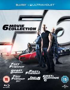 Fast and Furious 1-6 (Blu-ray) für 10,20€ (Zoom.co.uk)