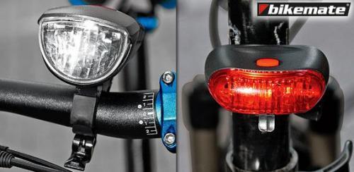 ALDI-SÜD: LED Fahrradleuchten Set für 9,99€ ab Montag 3. September