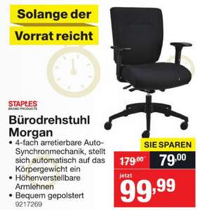 "Staples Bürostuhl ""Morgan"""