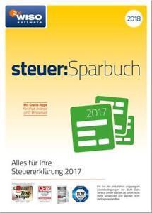 Wiso steuer:Sparbuch 2018 (PC) mit CD-ROM