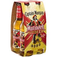 [Edeka] Captain Morgan Rum-Flavour | 4x0,33l Packung