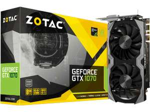 ZOTAC GeForce GTX 1070 Mini 8GB (ZT-P10700G)( NVIDIA, Grafikkarte)