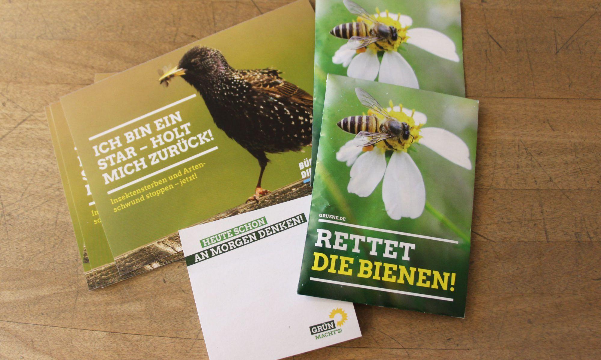 Gratis Paket Samen gegen Insektensterben