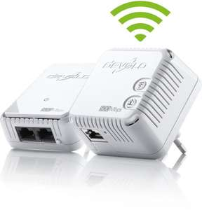 devolo dLAN 500 WiFi Starter Kit (500Mbit, 2er Kit, Powerline + WLAN, 1xLAN)