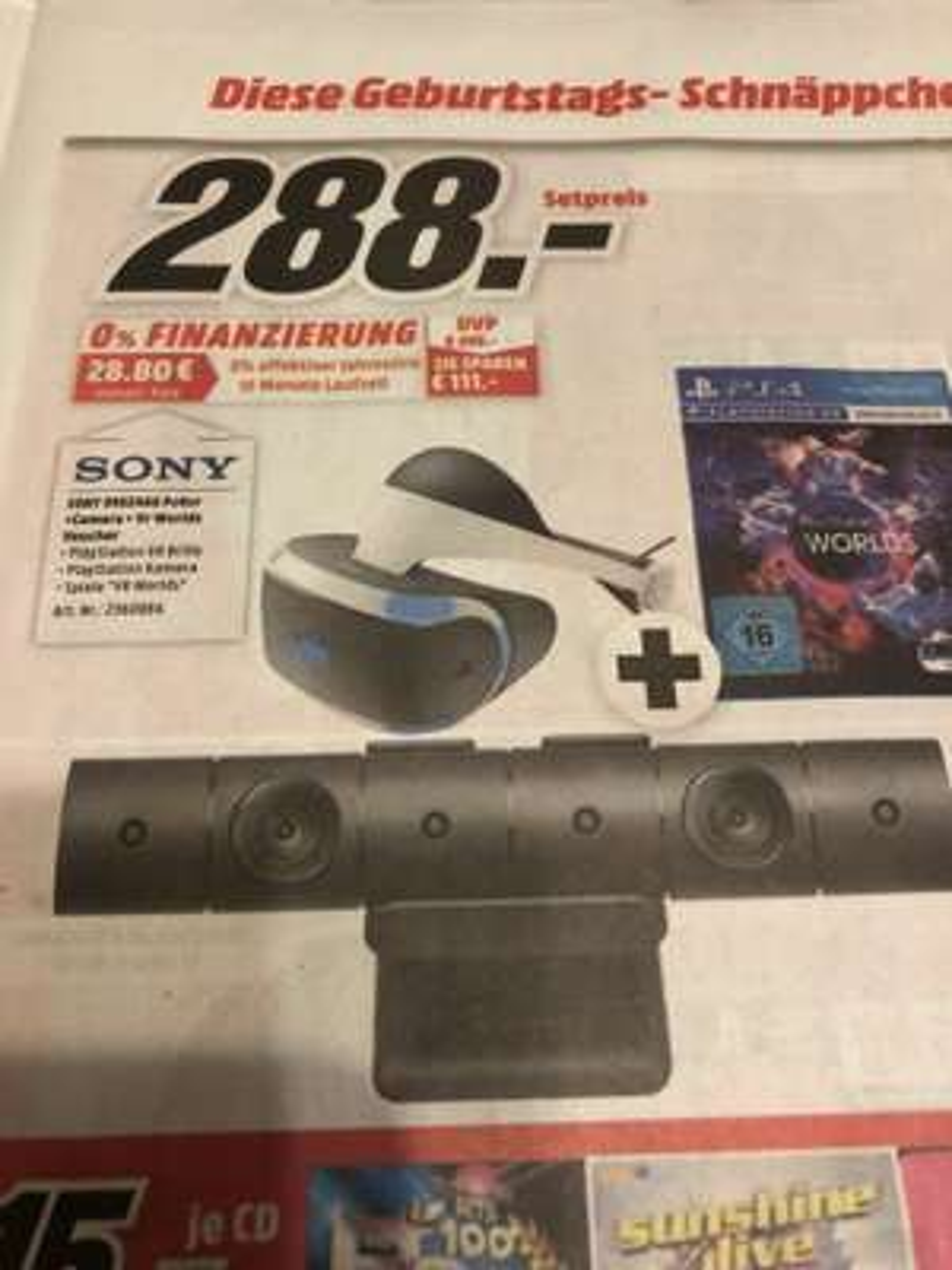 [lokal Rostock - Mediamarkt] PS4VR-Bundle