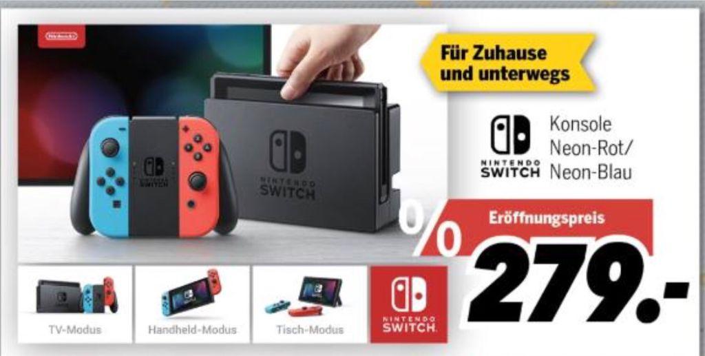 [LOKAL MediMax Duisburg] Nintendo Switch Neon