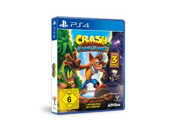 Crash Bandicoot: N. Sane Trilogy (PS4)