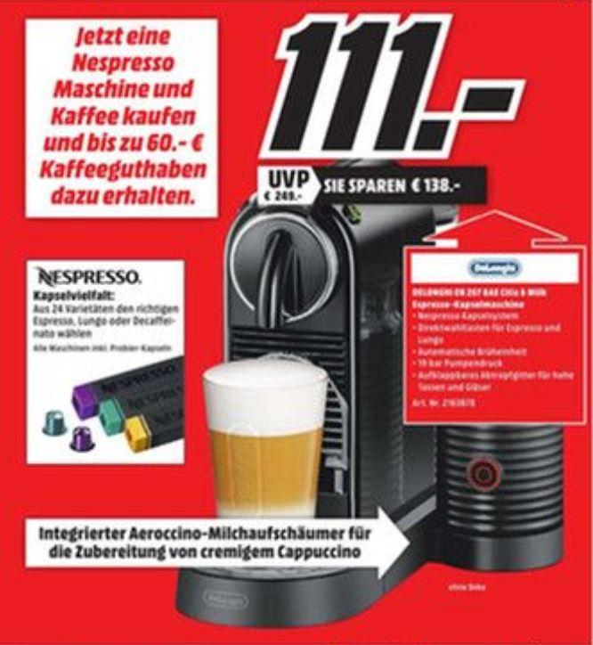 [Lokal Neu-Ulm] Nespresso Citiz&Milk zum Bestpreis