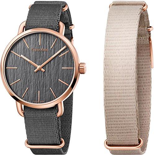 [Amazon] Calvin Klein Herren-Armbanduhr K7B216P3