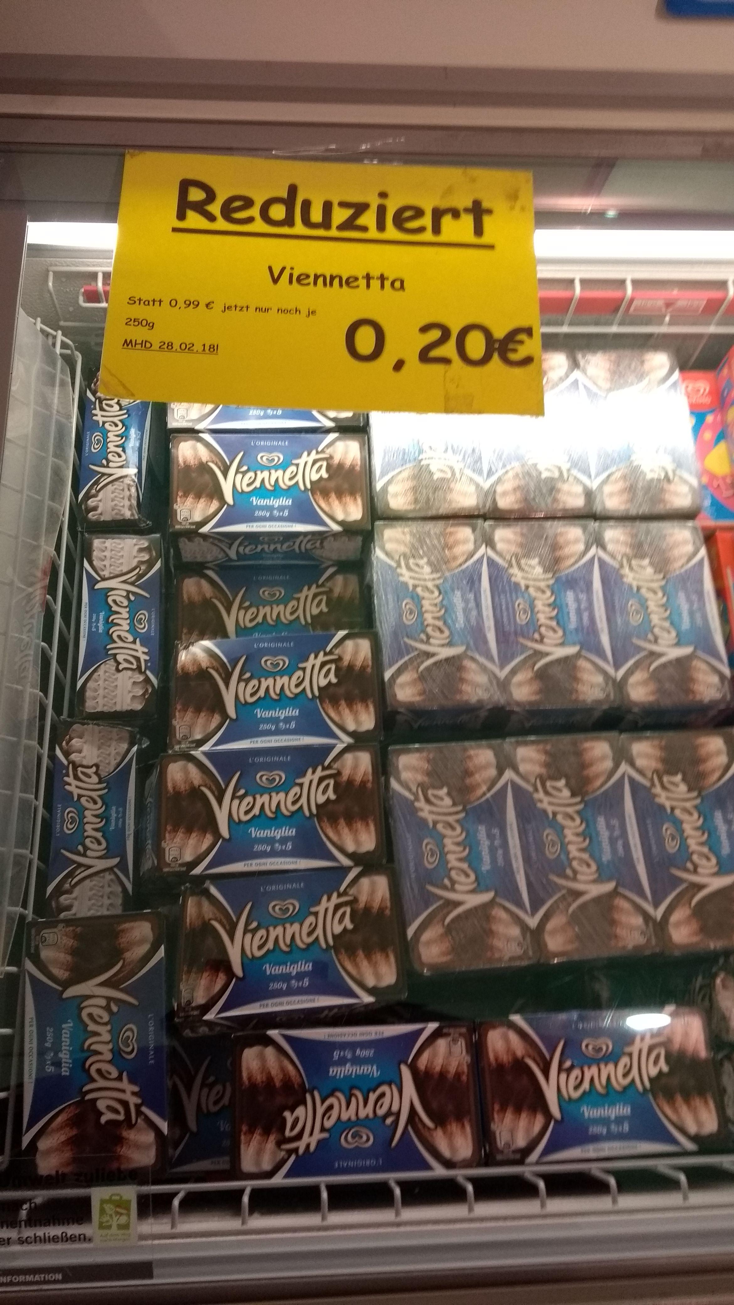 [LOKAL Bremen] Langnese Viennetta Vanille mit MHD 28.02.18 für 0,20 €