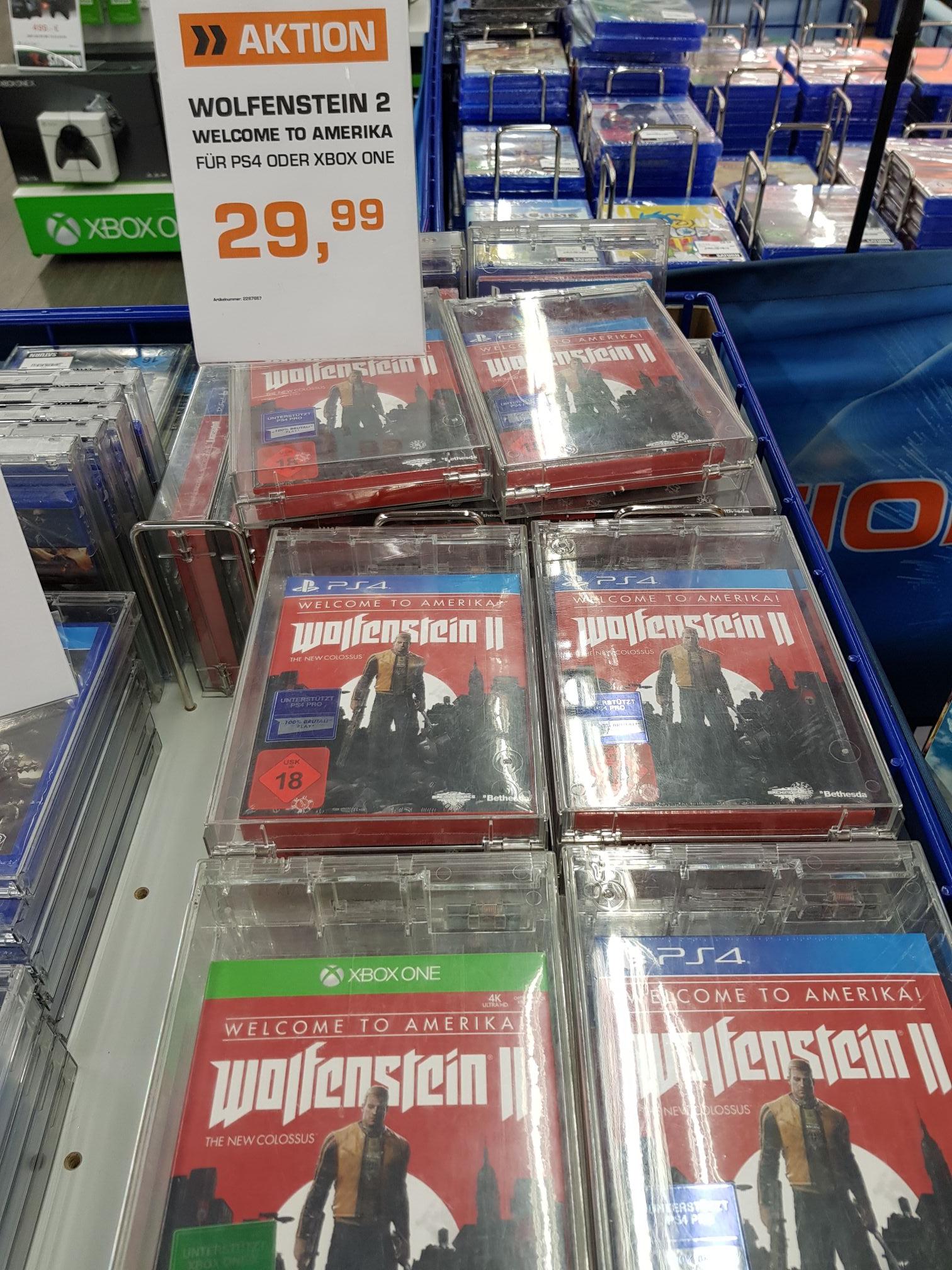 Lokal Berlin: Wolfenstein 2 - The New Colossus (PS4, XOne)
