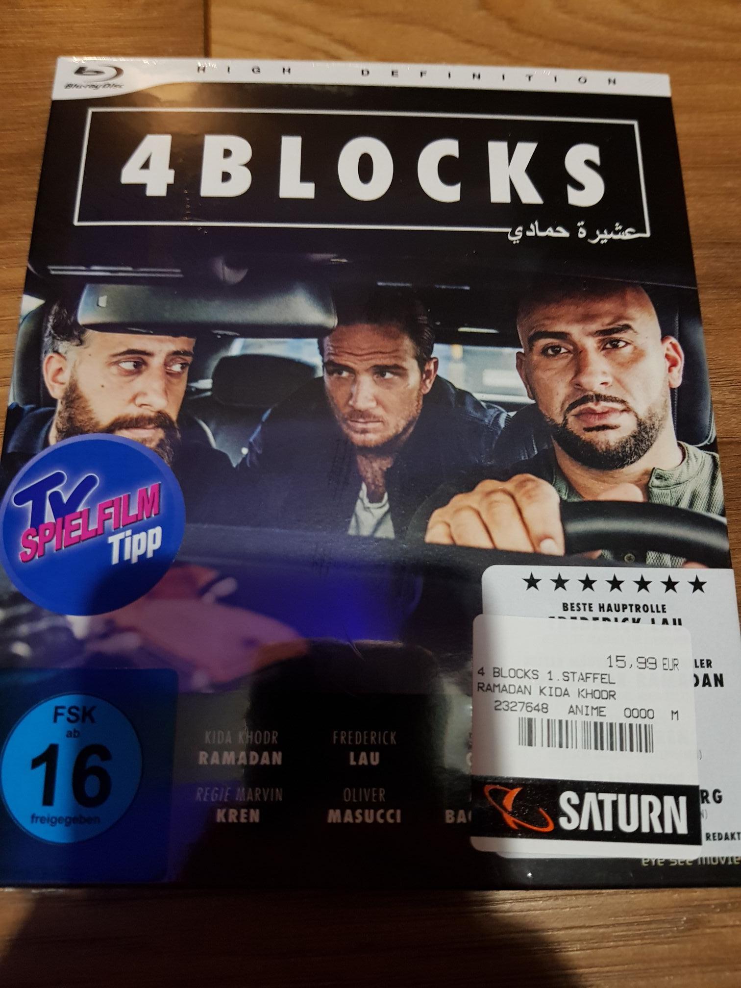 [Lokal Berlin?] 4 Blocks - komplette Serie auf 2 Blurays