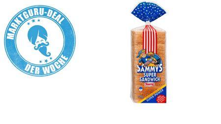 0,40€ Cashback auf Sammy's Super Sandwich von Harry über die Marktguru App