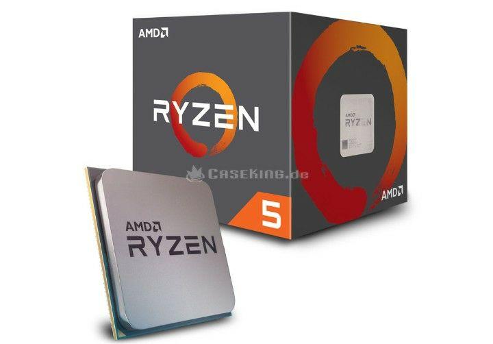 AMD ryzen 5 1400 3,2 GHz Boxed