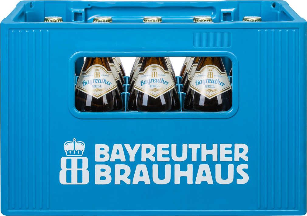 Bayreuther Hell 20x0,5l Bier bei Kaufland