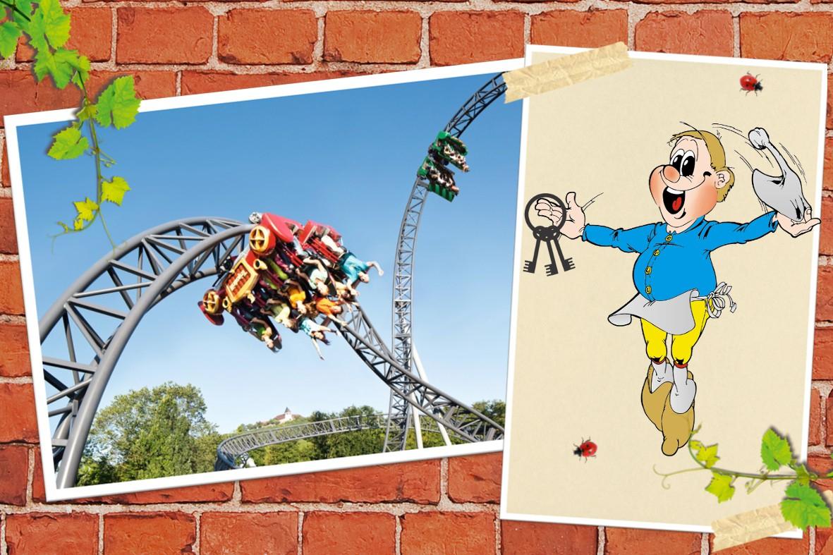 Erlebnispark Tripsdrill am 24.3. Erwachsenen-Tickets zum Kinderpreis