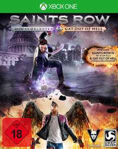 Saints Row IV Re-elected + Gat Out of Hell (Xbox One) für 12,99€ (Amazon)