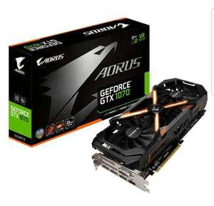 [Amazon.co.uk] Gigabyte AORUS GeForce GTX 1070 8GB - Lieferbar in einer Woche