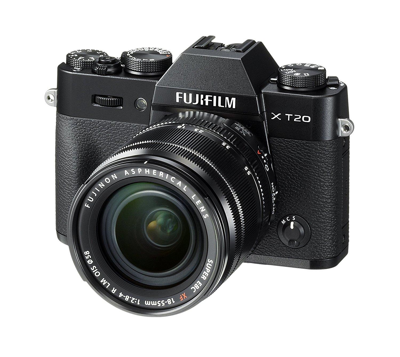 Fujifilm X-T20 Systemkamera mit XF18-55mm Objektiv Kit (Schwarz) [Amazon.fr]
