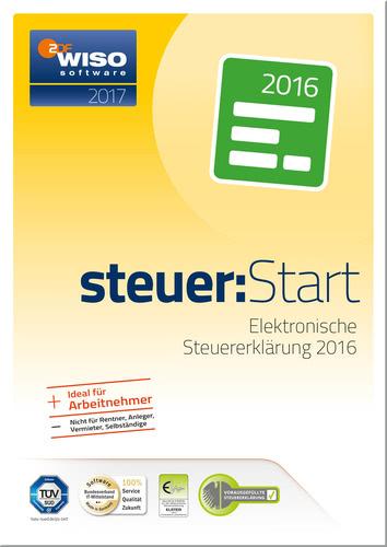 WISO steuer:Start für Steuerjahr 2016 inkl. Versand