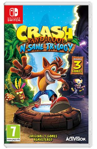 Crash Bandicoot N.Sane Trilogy (Switch) für 31,63€ (ShopTo & Base.com)