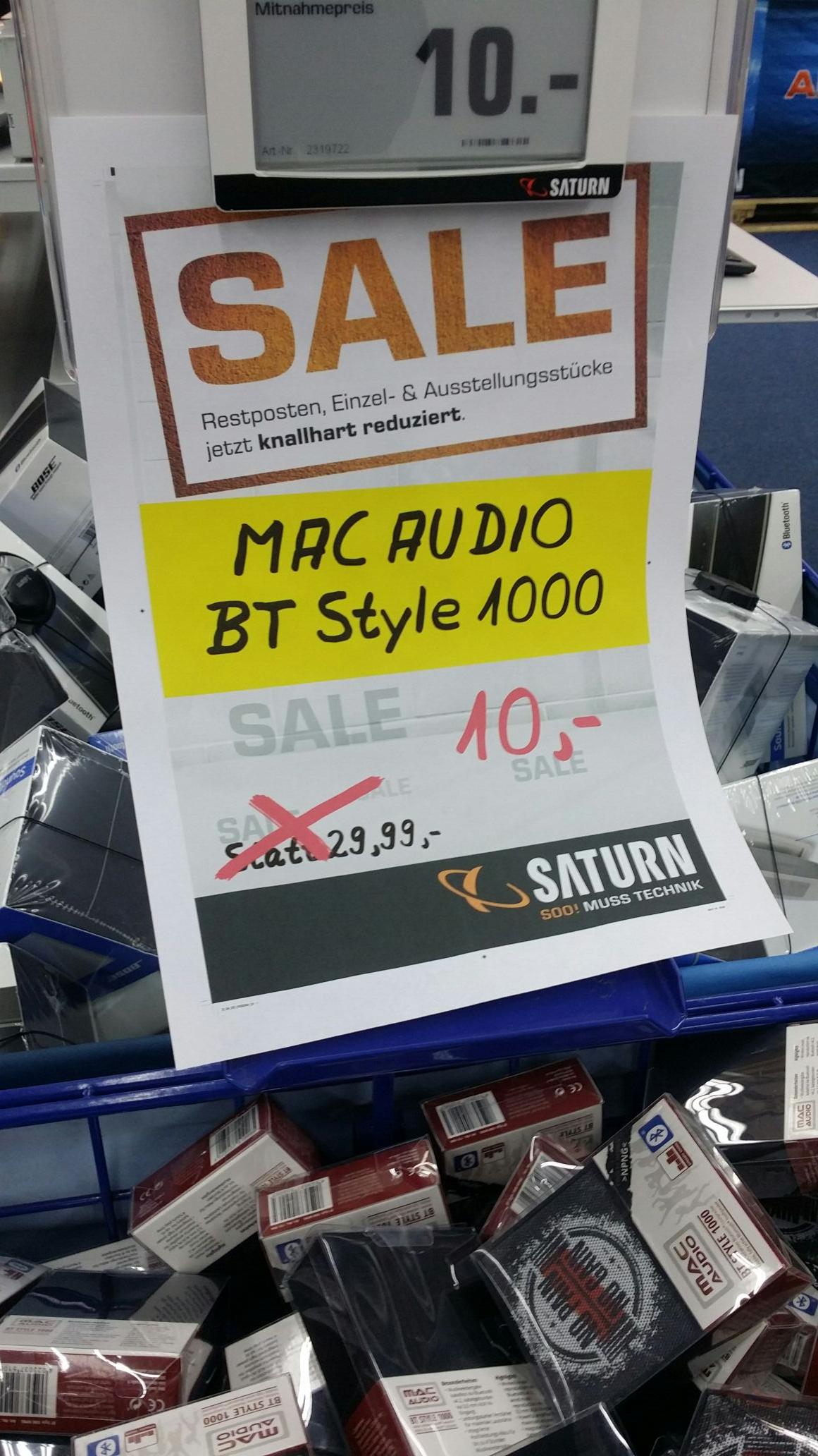 Mac Audio BT style 1000 [local Hagen]