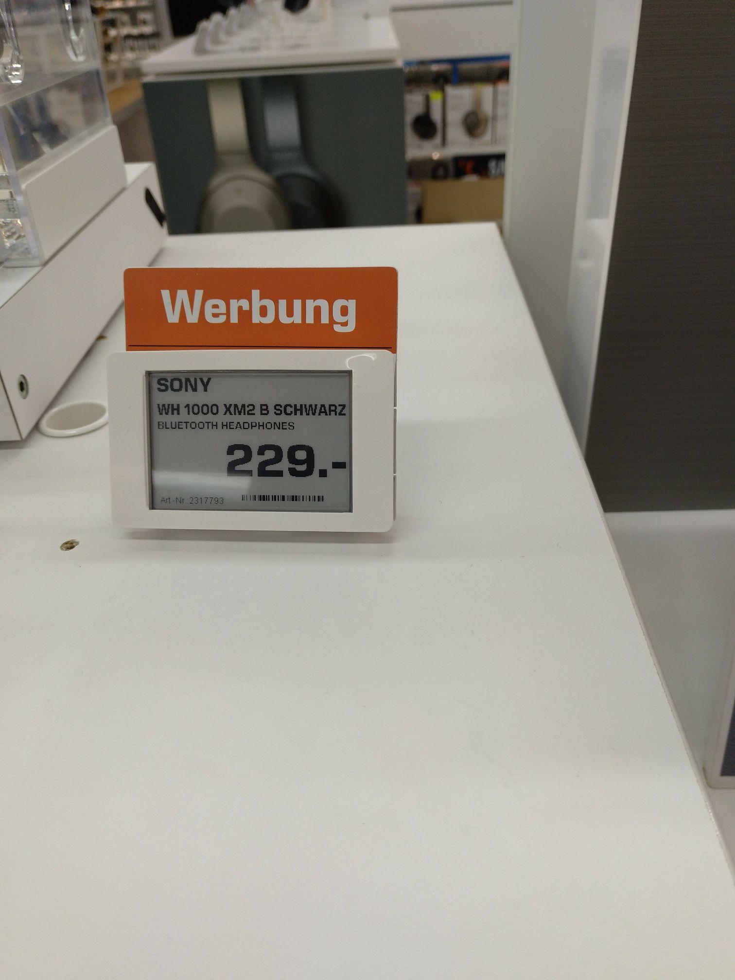 [Lokal Saturn Hamburg] Sony WH 1000XM2 B Schwarz
